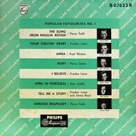Percy Faith, Frankie Lane, Paul Weston - Popular Favourites No. 1