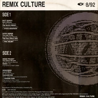 Various - Remix Culture 8/92