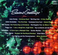 Peggy Lee, Nat King Cole, Eddie Dunstedter a.o. - Season's Greetings From . . .