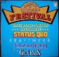 Kraftwerk, Nazareth, Genesis - Super Group Festival