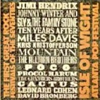 Hendrix, Winter, Mountain a.o. - The First Great Rock Festivals Of The Seventies - Isle Of Wight / Atlanta Pop Festival