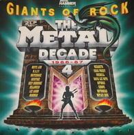 Black Sabbath, Motörhead, Alice Cooper - Metal Decade Vol. 4 (1986-87)