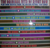 """Odetta, The Grass Roots, Mama Cass Elliot a.o. - The Original Hits Of Right Now Plus Some Heavies From The Motion Picture """"Easy Rider"""""""