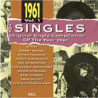 Dion, Barry Mann, Ricky Nelson a.o. - The Singles - Original Single Compilation Of The Year 1961 Vol. 1
