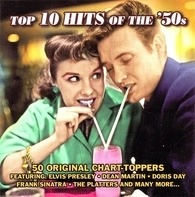 Dean Martin,Doris Day,Elvis Presley,The Chordettes, u.a - Top 10 Hits Of The 50's