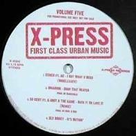 Hip Hop Sampler - X-Press # 5 First Class Urban Music 