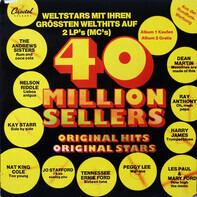 The Andrew Sister, Nelson Riddle, Kay Starr - 40 Million Sellers Weltstars Mit Ihren Grössten Welthits