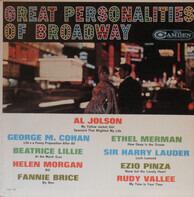 Al Jolson / Fanny Brice a.o. - Great Personalities Of Broadway