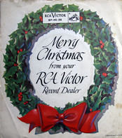 Harry Belafonte / Perry Como / Ames Brothers - Merry Christmas From Your RCA Victor Record Dealer