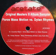 Afrika Bambaataa / Altitude a.o. - Original Masters II Album Sampler