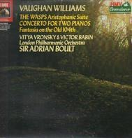 Vaughan Williams - Concerto For 2 Pianos And Orchestra a.o.