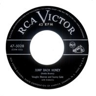 Vaughn Monroe And His Orchestra And Sunny Gale - Jump Back Honey / So-So