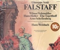 Verdi/ H. Weisbach, W. Fichtmüller, H. Hotter, E. Tegetthoff a.o. - FALSTAFF