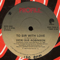 Vicki Sue Robinson - To Sir With Love