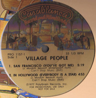 Village People / Starpoint - San Francisco (You've Got Me) - In Hollywood (Everybody Is A Star) / I Just Wanna Dance With You