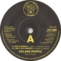 Village People - Just A Gigolo / I Ain't Got Nobody