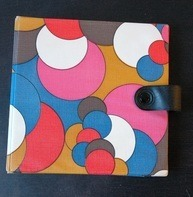 Vintage Schallplattenalbum - im 70s Design, für 20 Singles