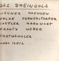 Wagner - Rheingold