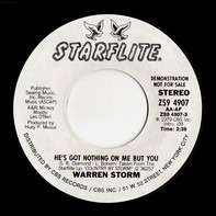 Warren Storm - He's Got Nothing On Me But You