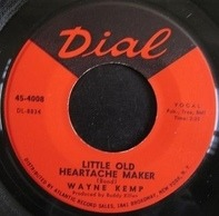 Wayne Kemp - Little Old Heartache Maker / You Cried All The Way Back To Me