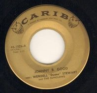 Wendell 'Duane' Stewart And The Sunglows - Johnny B. Good / Lonesome Town