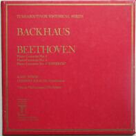"""Backhaus - Beethoven - Piano Concertos Nos. 3 / Piano Concertos Nos. 4 / Piano Concertos Nos. 5 """"Emperor'"""