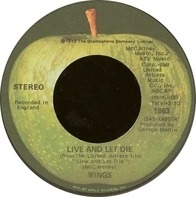 Wings - Live and Let Die / I Lie Around