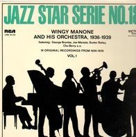 Wingy Manone - Jazz Star Serie No.18 - 16 Original Recordings From 1936-1939 Vol. 1