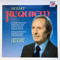 Wolfgang Amadeus Mozart - Philharmonia Chorus & Philharmonia Orchestra , Carlo Maria Giulini , Lynn - Requiem Kv 626