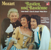 Wolfgang Amadeus Mozart , Edith Mathis • Claes-Håkan Ahnsjö • Walter Berry , Das Mozarteum Orcheste - Bastien Und Bastienne