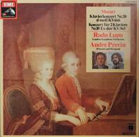Wolfgang Amadeus Mozart , Radu Lupu , André Previn , The London Symphony Orchestra - Mozart Klavierkonzert Nr.20 d-moll KV466 Konzert für 2 Klaviere Nr.10 Es-dur KV365