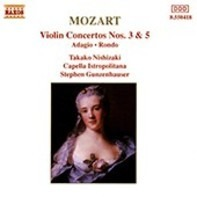 Mozart - Violin Concertos Nos.3 & 5
