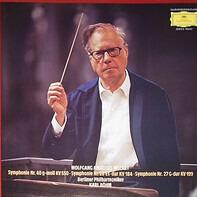 Mozart - Symphonie Nr.40 G-Moll KV 550 /  Nr.26 Es-Dur KV 184 /  Nr.27 G-Dur KV 199