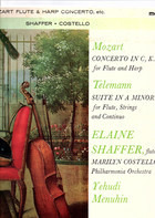 Yehudi Menuhin , Philharmonia Orchestra , Elaine Shaffer , Marilyn Costello - Mozart: Flute & Harp Concerto / Telemann: Suite For Flute & Strings
