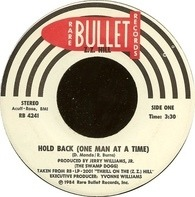 Z.Z. Hill - Hold Back (One Man At A Time) / Put A Little Love In Your Heart