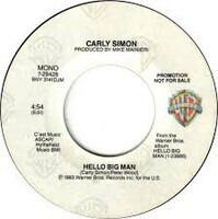 Carly Simon - Hello Big Man