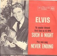 Elvis Presley With The Jordanaires - Such A Night