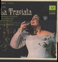 Verdi / Montserrat Caballé , Carlo Bergonzi , Sherrill Milnes , Georges Prêtre - La Traviata