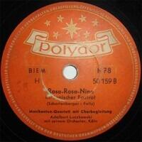 Adalbert Luczkowski mit seinem Orchester, Köln - So Wird Das Sein (Die Liebe, Die Liebe, ...) / Rosa - Rosa - Nina