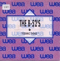 The B-52's - Cosmic Thing