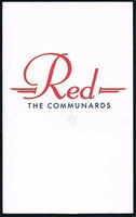 The Communards - Red