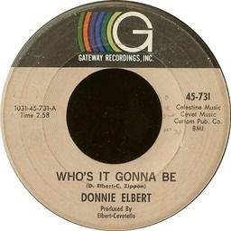 Donnie elbert whos it gonna be run little girl 2