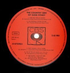 Gene pitney the country side of
