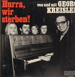 Georg kreisler hurra. wir sterben(signed)