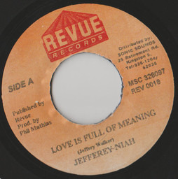 Jefferey niah . gregory isaacs love is full of meaning faithfully 2 1