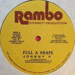 Full A Shape Johnny P Vinyl Recordsale