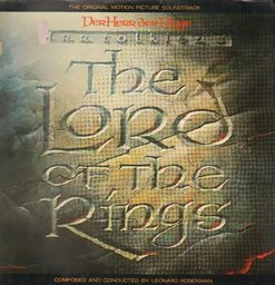 Leonard rosenman the lord of the rings der herr der ringe
