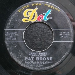 Candy Sweet Delia Gone Pat Boone 7inch Recordsale