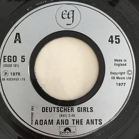 Adam Ant - Deutscher Girls