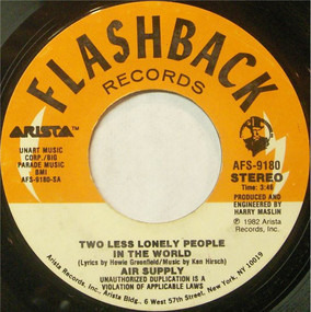 Air Supply - Two Less Lonely People In The World / What Kind Of Girl